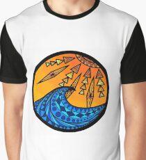 Aztec Circle  Graphic T-Shirt
