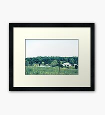 INDIANA COUNTRYSIDE Framed Print