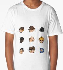 Team Fortress 2 Merc Heads (BLU) Long T-Shirt