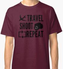 Travel shoot repeat Classic T-Shirt
