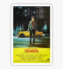 Taxi Driver Movie Poster Sticker
