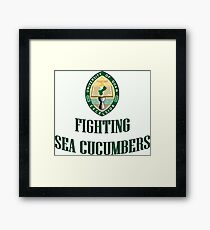 University of Guam Fighting Sea Cucumbers Framed Print