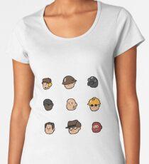 Team Fortress 2 Merc Heads (RED) Women's Premium T-Shirt