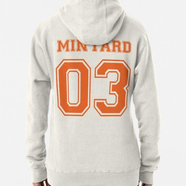 Le Foxhole Court Minyard orange Sweat à capuche épais
