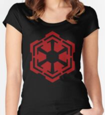 Sith Empire Emblem Women's Fitted Scoop T-Shirt