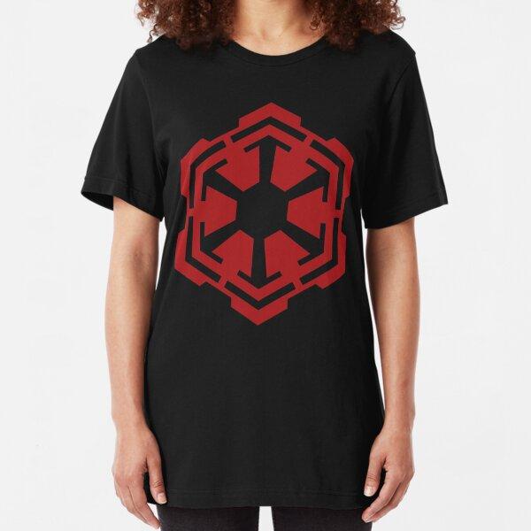Sith Empire Emblem Slim Fit T-Shirt
