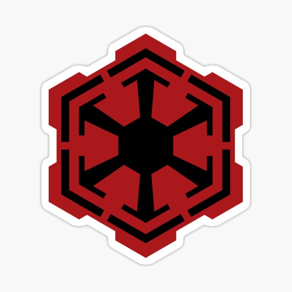 Sith Empire Emblem Sticker