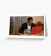 Tom Haverford- This is America Greeting Card