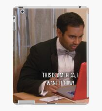 Tom Haverford- This is America iPad Case/Skin