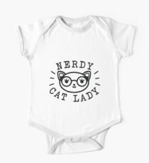 Nerdy Cat Lady Kids Clothes