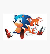 Sonic & Tails Photographic Print