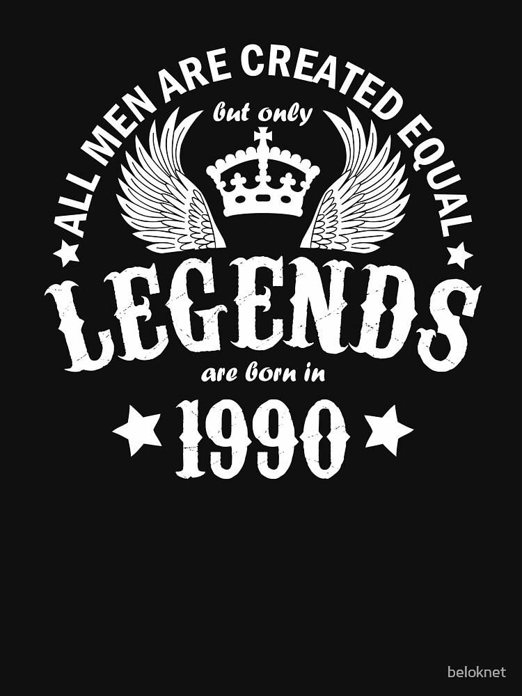Legends are Born in 1990 by beloknet