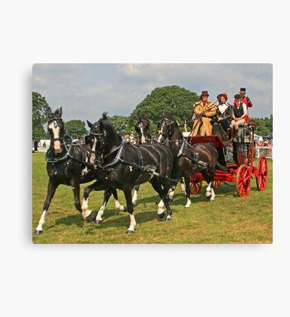 Royal Mail Coach Canvas Print
