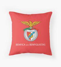 Benfica aos Benfiquistas Throw Pillow