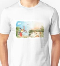 San Francisco + Los Angeles Unisex T-Shirt