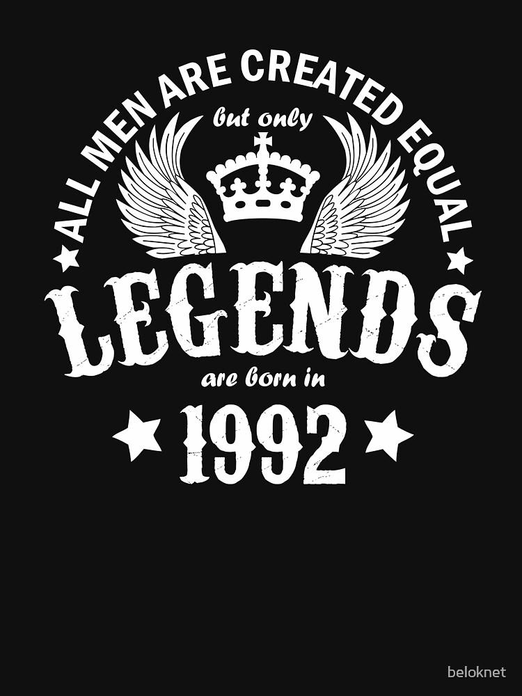 Legends are Born in 1992 by beloknet