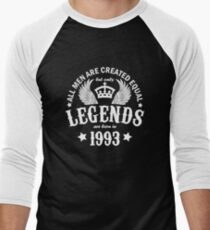 Legends are Born in 1993 T-Shirt