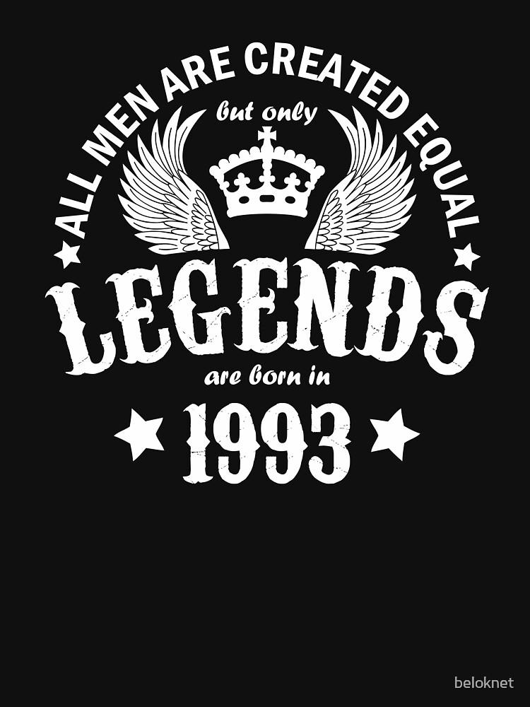 Legends are Born in 1993 by beloknet