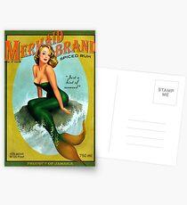 Meerjungfrau von Jamaika Postkarten