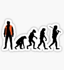 Back to the future past future past Sticker