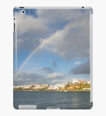 Of Whitewashed Villages and Rainbows iPad Case/Skin