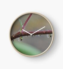 Raindrop Jewels Clock