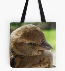 I'll soon be well to fly again! - House Sparrow - NZ - Southland Tote Bag