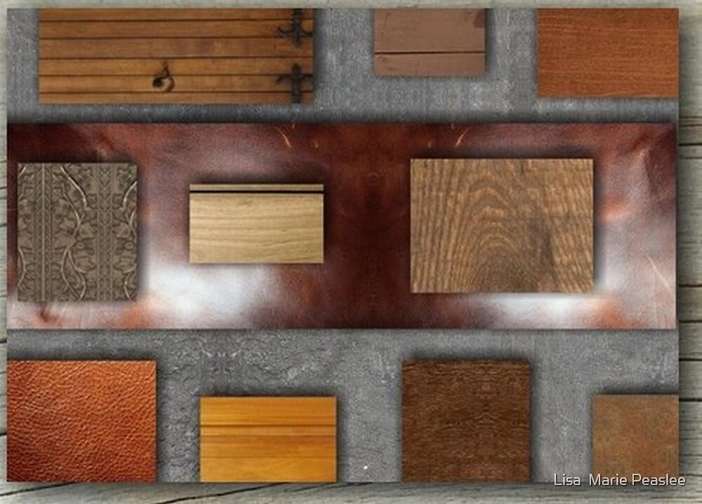 Wood Chunks by Lisa  Marie Peaslee