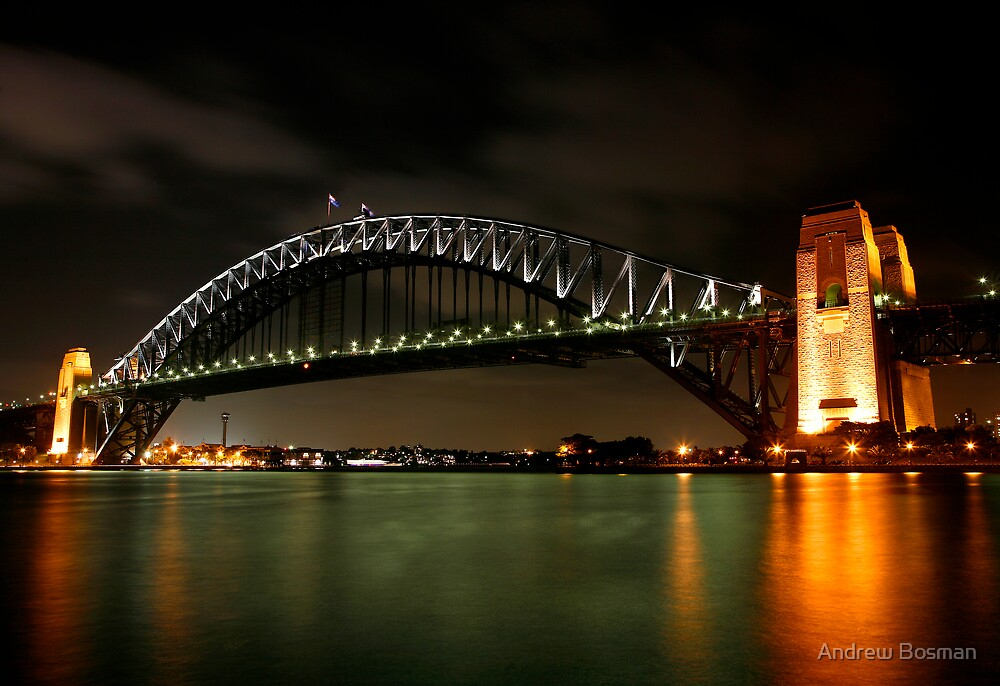 Bridged by Night by Andrew Bosman