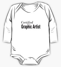 Graphic Artist One Piece - Long Sleeve
