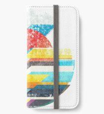 Digital Sun Horizon  iPhone Wallet/Case/Skin
