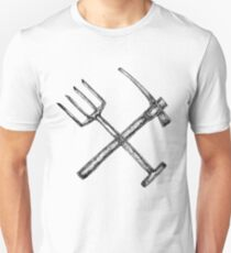 Pitchforks and pickaxes T-Shirt