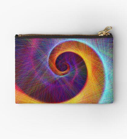 Fibonacci spiral, linify Zipper Pouch