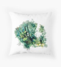 Nier Automata Painting Throw Pillow