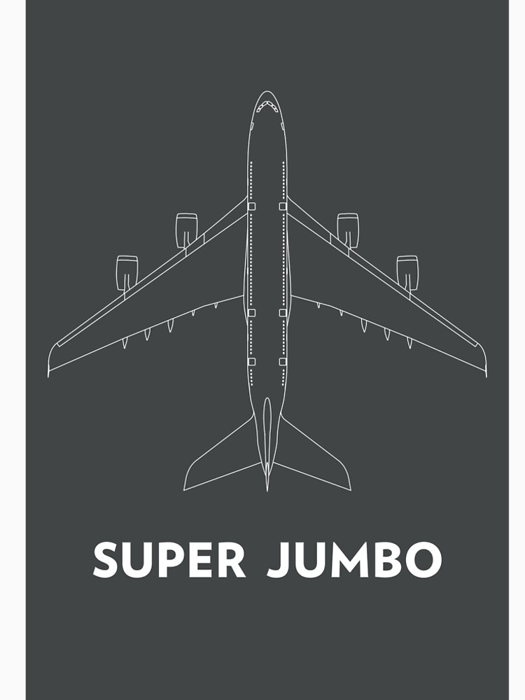 Super Jumbo Airbus A380 by untitledstory
