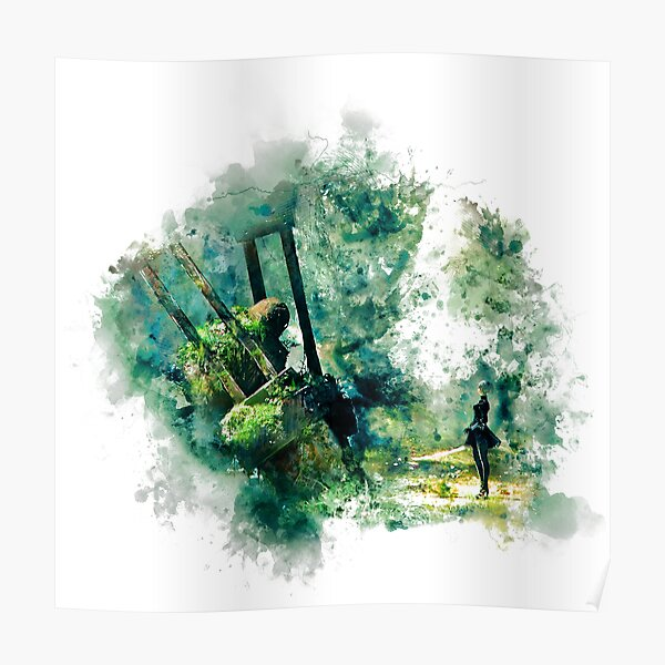 Nier Automata Peinture Poster