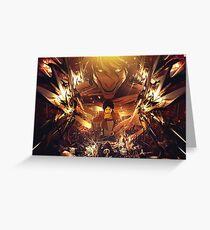 Attack on Titan - Eren Titan Greeting Card