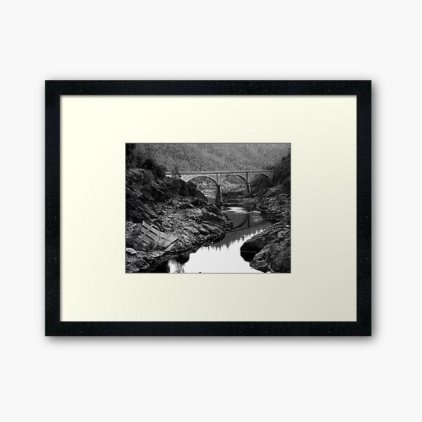 American Bridge Framed Art Print