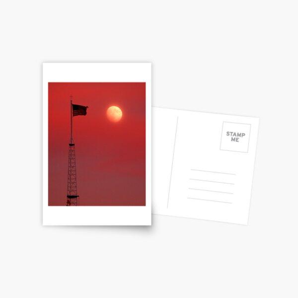 Moon Flag 1 Postcard