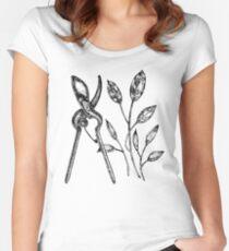 Garden shears Women's Fitted Scoop T-Shirt