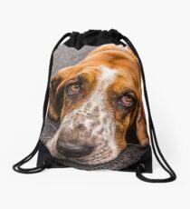 aint nuthin but a hound dog Drawstring Bag