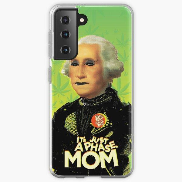 Just a phase mom Samsung Galaxy Soft Case