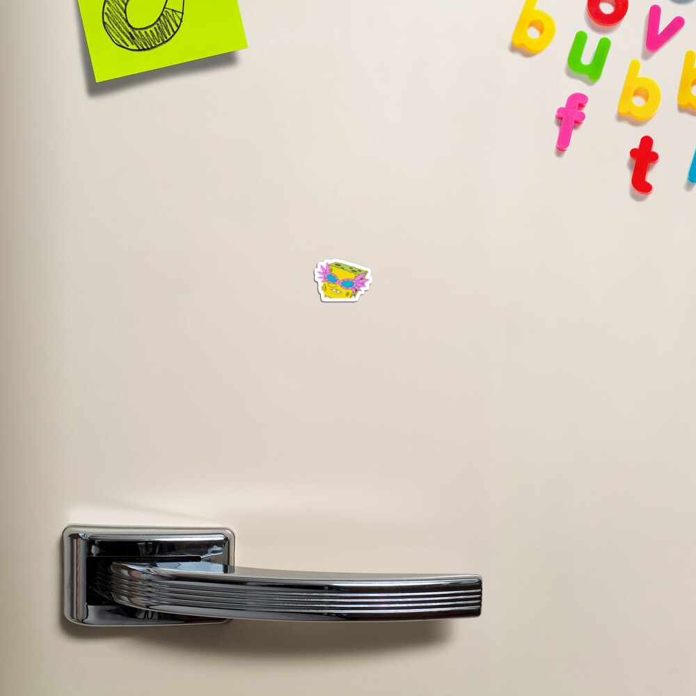spongebob sticker ~ Magnet