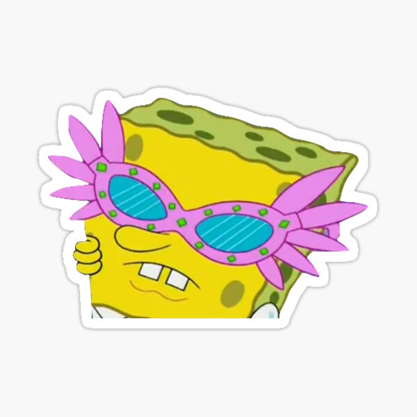 spongebob sticker ~ Sticker