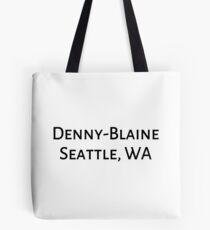 Denny-Blaine Tote Bag