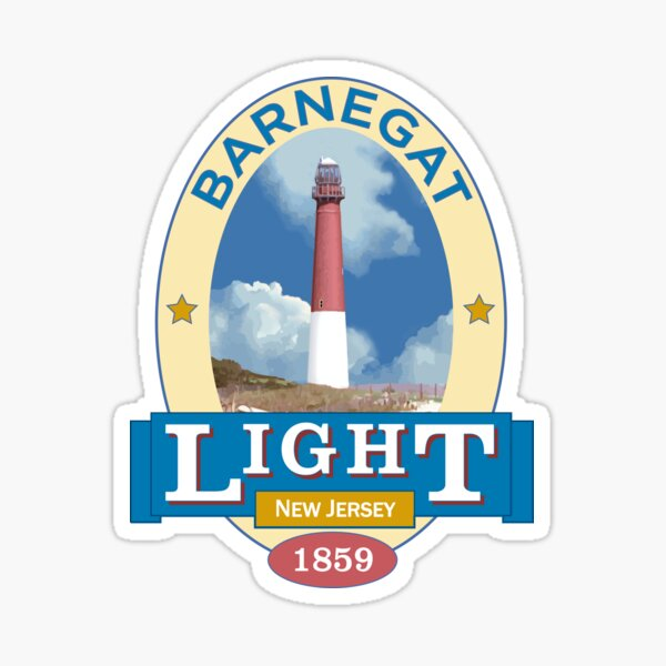 Barnegat Lighthouse Sticker