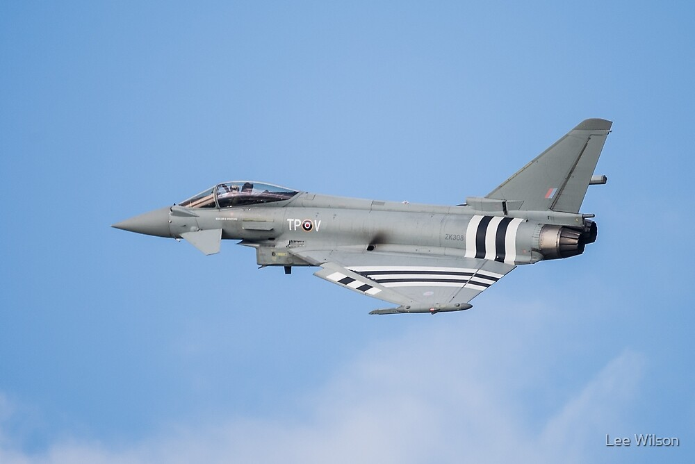 D Day Eurofighter Typhoon by Lee Wilson
