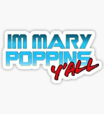 Mary Poppins Yondu Sticker
