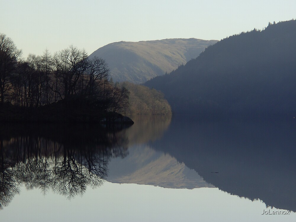 Thirlmere Reflection III by JoLennox