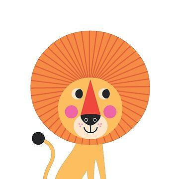 Lion by Hendude